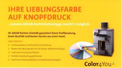 Foto zur Meldung: Ihre Lieblingsfarbe - Auf Knopfdruck