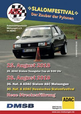 Vorschaubild zur Meldung: Infos zum Auto-Slalom Wochenende des ASC Melsungen online!