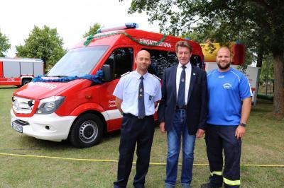 28. Feuerwehrfest mit Übergabe des neuen ELW 1