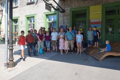 Vorschaubild zur Meldung: Der Dorfverein erkundete Bayerisch Eisenstein