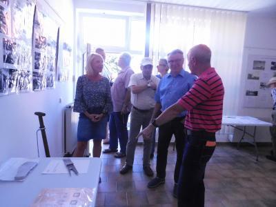 Vorschaubild zur Meldung: 50 Jahre Spatenstich LMW - Ausstellung in der Galerie