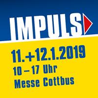 """Vorschaubild zur Meldung: """"IMPULS"""" - Größte Bildungsmesse und Jobbörse des Bundeslandes Brandenburg am 11. + 12. Januar 2019 in der Messe Cottbus - Bewerben Sie sich als Aussteller!"""