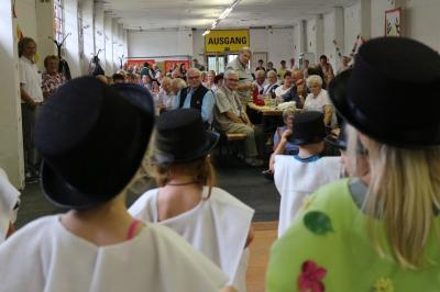 Foto zur Meldung: Rundum gelungenes Sommerfest für Senioren in Zinnitz