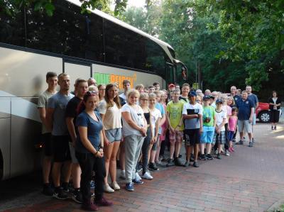 Vorschaubild zur Meldung: Gemischte Gruppe aus den Jugendfeuerwehren des Landkreises Oldenburg und der Stadt Delmenhorst in Polen auf Ferienfreizeit