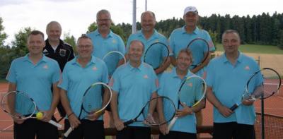 Foto zur Meldung: Tennis Herren 50 / Deutliche Niederlage zum Abschluss