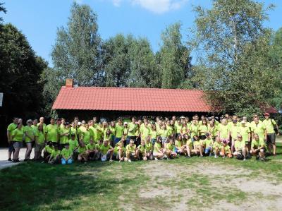 Vorschaubild zur Meldung: Erster Ausflug während der Ferienfreizeit in Polen
