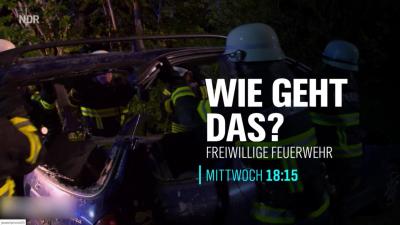 Foto zur Meldung: Freiwillige Feuerwehr Ostseebad Nienhagen als Doku auf NDR