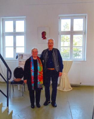 Andrea Anjuscha Klapproth mit Jürgen Raßbach