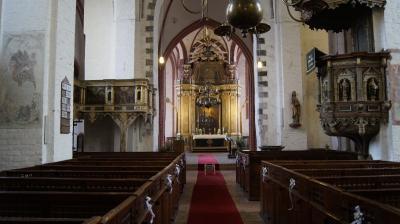Foto zur Meldung: Hortkinder entdecken die Stadtkirche