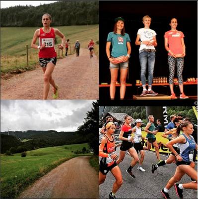 Vorschaubild zur Meldung: Zweiter Platz von Adele Blaise-Sohnius beim Tote-Mann-Berglauf