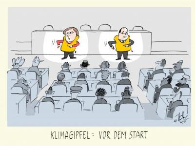 Cartoon von NEL ...