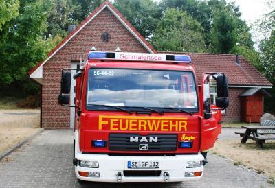 Foto zur Meldung: Ehrenrunde durch Bornhöved – Feuerwehr kam im Einsatz nicht zum Einsatz