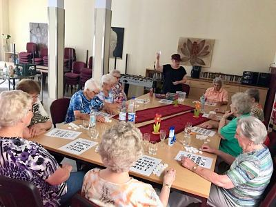Vorschaubild zur Meldung: Bingo-Spiel beim AWO Seniorencafé .