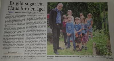 Foto zur Meldung: 1. Schulgartenfest