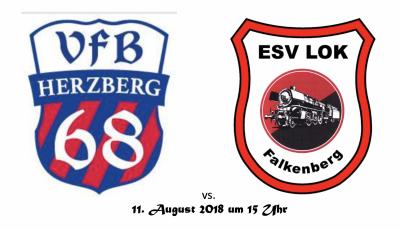 Foto zur Meldung: Fußball: Vorbereitungsspiel in Herzberg