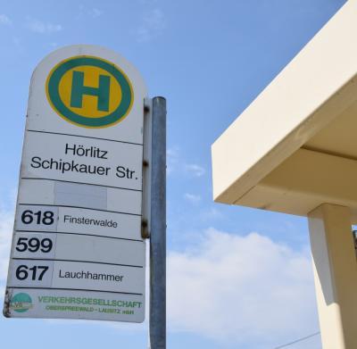 Vorschaubild zur Meldung: Hörlitz: Bushaltestellen Schipkauer Straße weiter dicht
