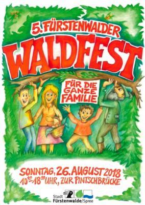 Vorschaubild zur Meldung: Fest der Superlative: Stadt Fürstenwalde lädt ein zum 5. Waldfest am 26. August