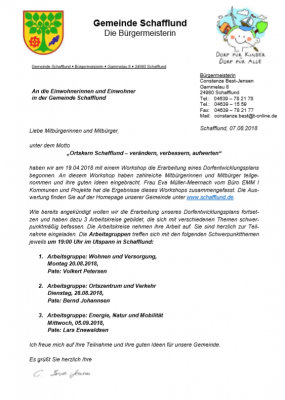 Foto zur Meldung: Einladung zur Arbeitsgruppen und Mitgestaltung