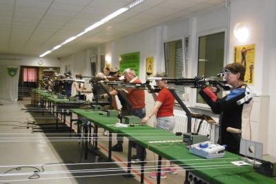 Foto zu Meldung: Kreiskönigsschießen im Schießsportzentrum der Astorianer