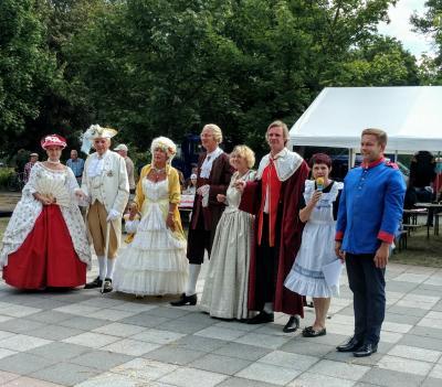 """Vorschaubild zur Meldung: Die historische Festveranstaltung anlässlich """"350 Jahre Friedrich-Wilhelm-Kanal"""" war ein unvergesslicher Höhepunkt des Jubiläumsjahres"""