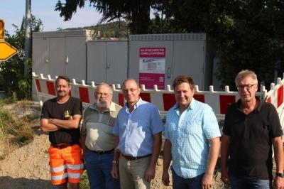 Foto zu Meldung: Der Breitbandausbau geht zügig voran