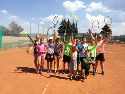 Foto zur Meldung: Der Tennisclub organisierte das 2. Ferienprogramm in der Gemeinde Prackenbach