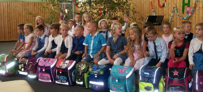 Vorschaubild zur Meldung: Schulanfang gefeiert