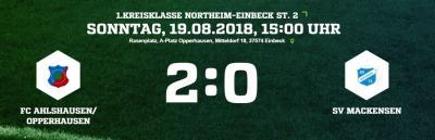 Vorschaubild zur Meldung: Fußball: Keine Punkte in Opperhausen