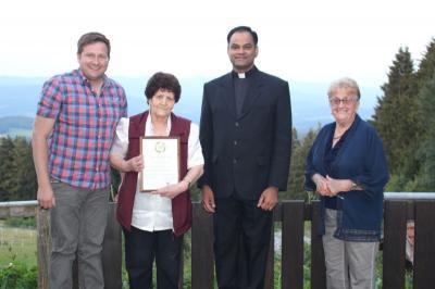 Foto zu Meldung: Eine gelungene Feier zum 80. Geburtstag