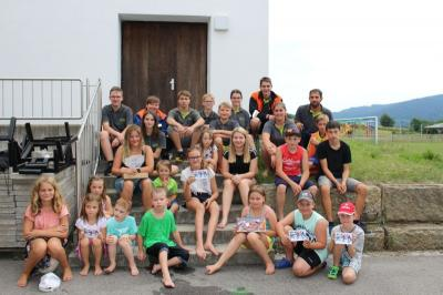 Foto zur Meldung: Der 1. Tag im Ferienprogramm der Gemeinde Prackenbach war spitze