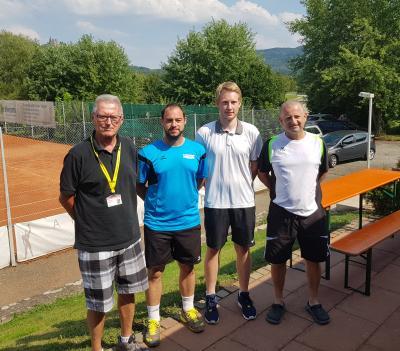 Foto zur Meldung: Tennis Herren – 2. Platz beim Preisgeldturnier der TG Bisingen