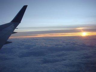 ... über den Wolken muß das Leben wohl grenzenlos sein ...