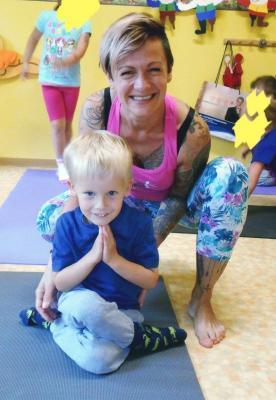 Vorschaubild zur Meldung: NEU - Yoga für Kinder