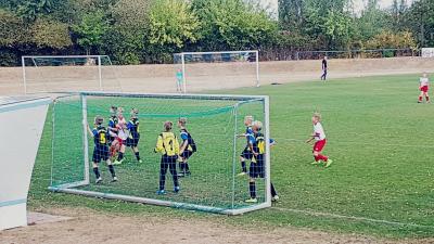 Foto zur Meldung: D-Jugend gewinnt erstes Heimspiel der Saison