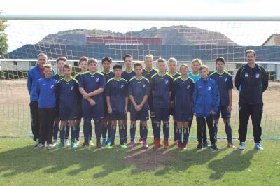 Foto zur Meldung: C-Junioren gewinnen Derby zu Hause