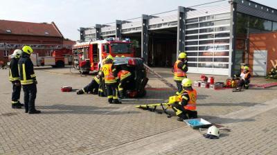 Vorschaubild zur Meldung: Leistungsspange in Silber für die Feuerwehr