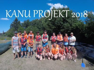 Foto zur Meldung: Kanu-Projekt auf der Treene