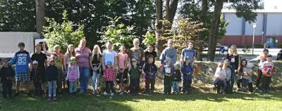 Foto zur Meldung: Projekt mit dem Kindergarten