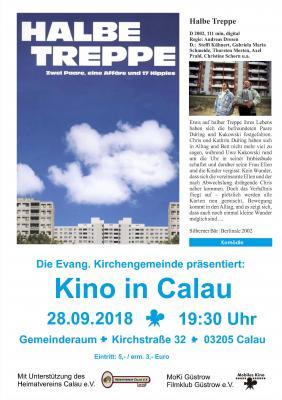 "Foto zur Meldung: Kino in Calau: ""Halbe Treppe"""
