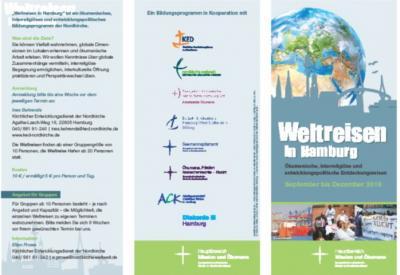 Vorschaubild zur Meldung: Einladung zur Weltreise für ökumenisch und entwicklungspolitisch Interessierte