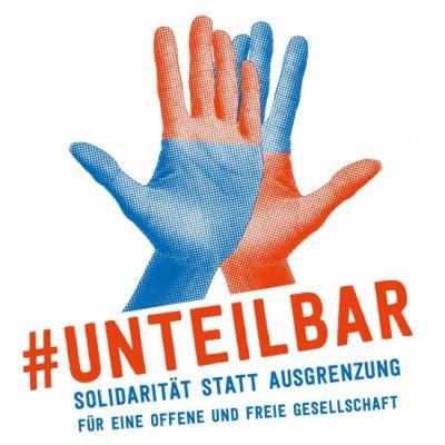 Foto zur Meldung: #unteilbar - Solidarität statt Ausgrenzung