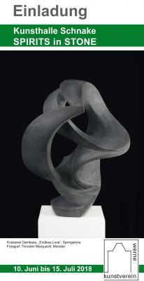 """Vorschaubild zur Meldung: Rückschau auf die Vernissage/Finissage der Ausstellung """"Spirits in Stone"""""""