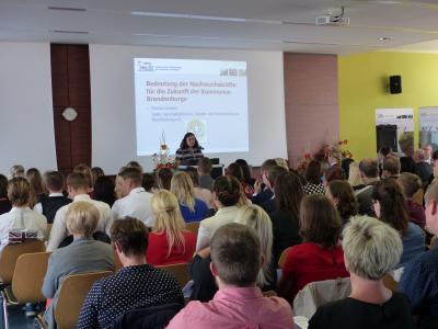 Foto zu Meldung: Kommunalverwaltungen in Brandenburg bekommen Nachwuchs
