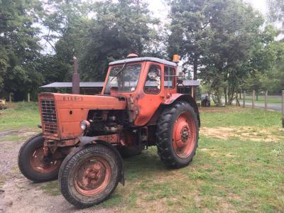 Vorschaubild zur Meldung: Versteigerung von zwei Traktoren Belarus MTS 50