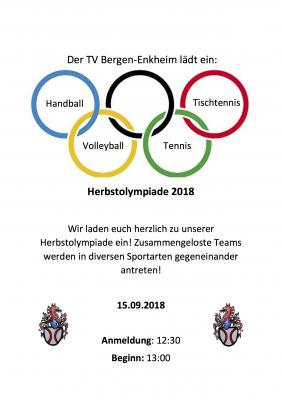 Vorschaubild zur Meldung: Herbstolympiade 2018