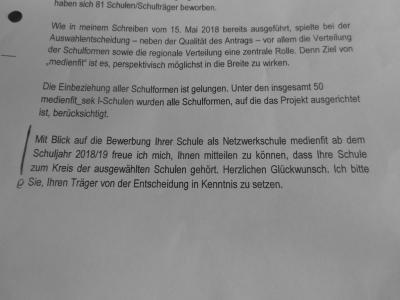 "Foto zur Meldung: Schulprojekt ""medienfit_Sek1"""