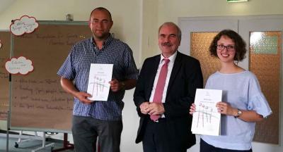 Foto zur Meldung: DorfDialog des Forums von Staatskanzlei als Demografie-Projekt des Monats ausgezeichnet