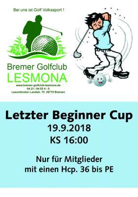 Beginner Cup