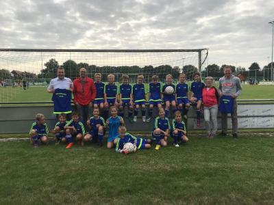 Foto zur Meldung: 2018/2019 Sponsoring Förderverein Trikots