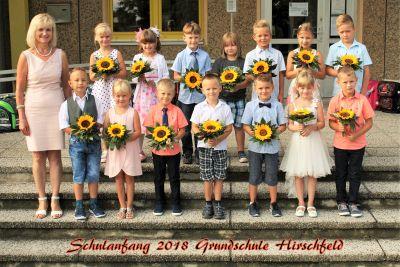 Foto zur Meldung: Schulanfang 2018